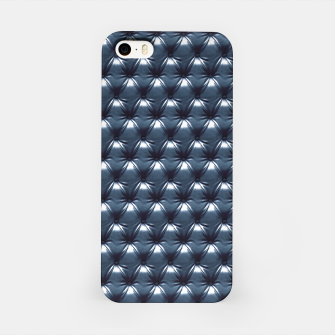 Thumbnail image of Faux Midnight Leather Buttoned iPhone Case, Live Heroes