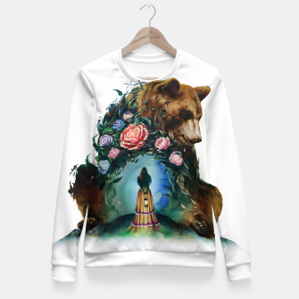 Thumbnail image of FLOWERS & BEAR Fitted Waist Sweater, Live Heroes