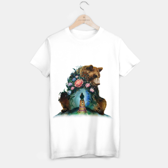 Thumbnail image of FLOWERS & BEAR T-shirt regular, Live Heroes