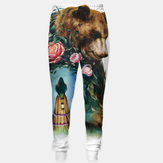 Thumbnail image of FLOWERS & BEAR Sweatpants, Live Heroes