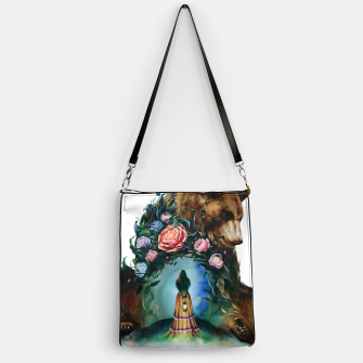 Thumbnail image of FLOWERS & BEAR Handbag, Live Heroes