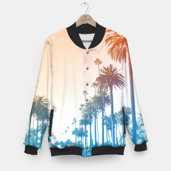 Thumbnail image of Summer in LA Baseball Jacket, Live Heroes