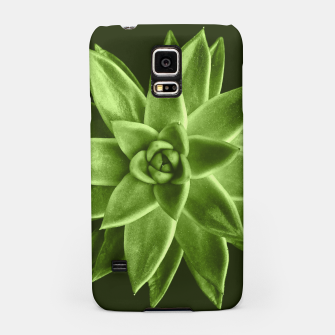 Greenery succulent Echeveria agavoides flower Samsung Case thumbnail image