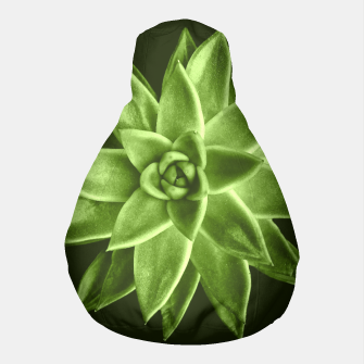 Greenery succulent Echeveria agavoides flower Pouf thumbnail image