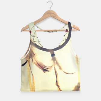 Thumbnail image of Vintage photography Crop Top, Live Heroes