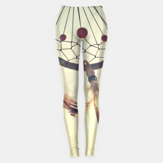 Thumbnail image of Vintage photography Leggings, Live Heroes
