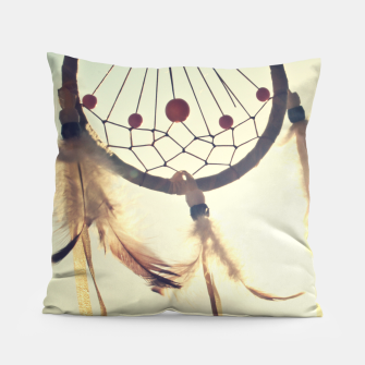 Thumbnail image of Vintage photography Pillow, Live Heroes