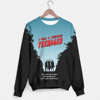 Thumbnail image of Teenage Terror Sweater, Live Heroes