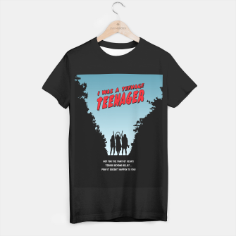Thumbnail image of Teenage Terror T-shirt regular, Live Heroes