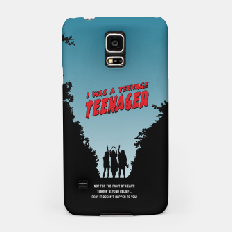 Thumbnail image of Teenage Terror Samsung Case, Live Heroes