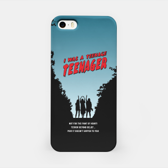 Thumbnail image of Teenage Terror iPhone Case, Live Heroes