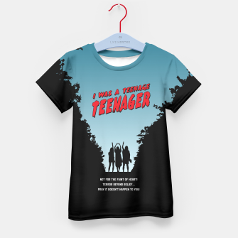 Thumbnail image of Teenage Terror Kid's T-shirt, Live Heroes
