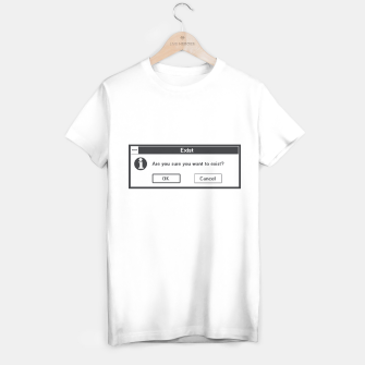 Thumbnail image of Basic Existentialism I T-shirt, Live Heroes