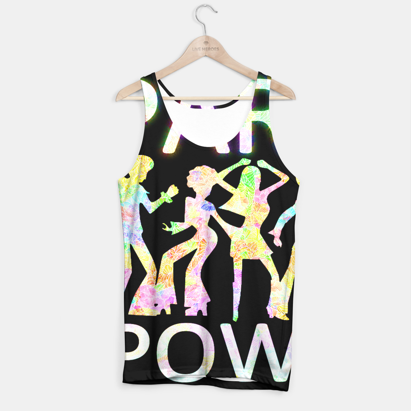Image of pp Tank Top - Live Heroes