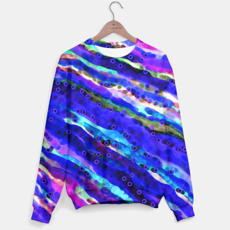 Thumbnail image of Beneath Blue Waves Sweater, Live Heroes