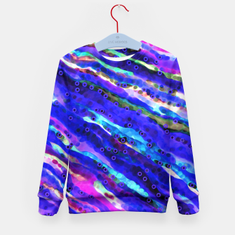 Thumbnail image of Beneath Blue Waves Kid's Sweater, Live Heroes