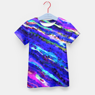 Thumbnail image of Beneath Blue Waves Kid's T-shirt, Live Heroes