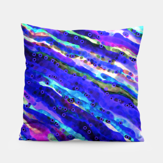 Thumbnail image of Beneath Blue Waves Pillow, Live Heroes