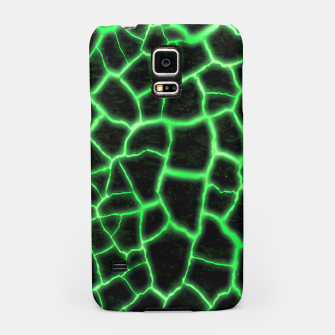 Miniatur Green Inferno Magma Samsung Case, Live Heroes