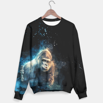 Thumbnail image of Gorilla Sweater for Man, Live Heroes