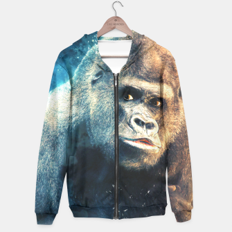 Thumbnail image of Gorilla Hoodie for Men, Live Heroes