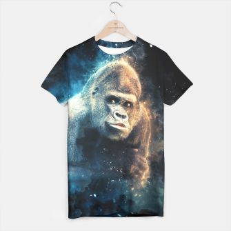 Thumbnail image of Gorilla t-shirt for Men, Live Heroes