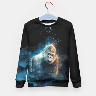 Thumbnail image of Gorilla Kid's Sweater, Live Heroes