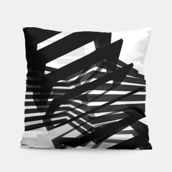 Thumbnail image of Black Prismatic  Pillow, Live Heroes