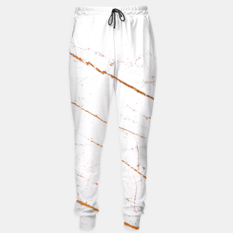 Thumbnail image of Rose Gold Marble Sweatpants, Live Heroes