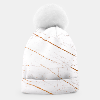 Thumbnail image of Rose Gold Marble Beanie, Live Heroes
