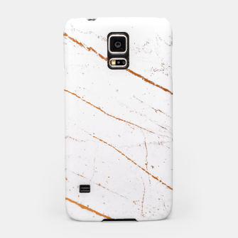 Thumbnail image of Rose Gold Marble Samsung Case, Live Heroes