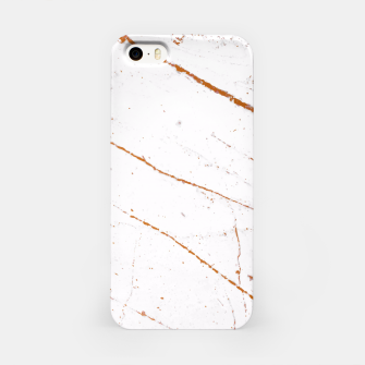 Thumbnail image of Rose Gold Marble iPhone Case, Live Heroes