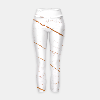 Thumbnail image of Rose Gold Marble Yoga Pants, Live Heroes