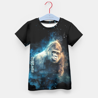 Thumbnail image of Gorilla Kid's T-shirt, Live Heroes
