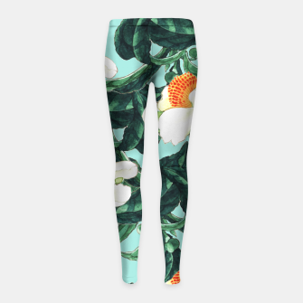 Thumbnail image of Sunny Side Up Girl's Leggings, Live Heroes