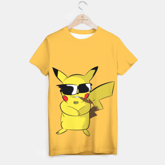 Thumbnail image of The Real Pikachu T-shirt, Live Heroes