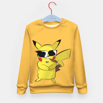 Thumbnail image of The Real Pikachu Enfantin Sweat-shirt, Live Heroes