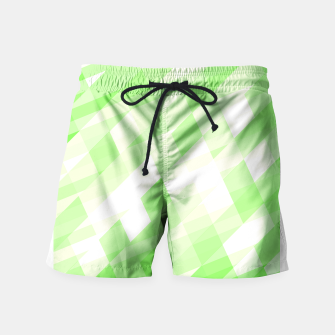Thumbnail image of Peppermint Fancy Swim Shorts, Live Heroes