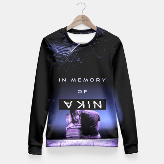 Thumbnail image of -in-memory-of- Fitted Waist Sweater, Live Heroes