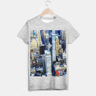 Miniaturka MANHATTAN, NYC T-shirt regular, Live Heroes