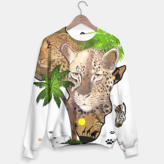 Map of Africa Sweater thumbnail image