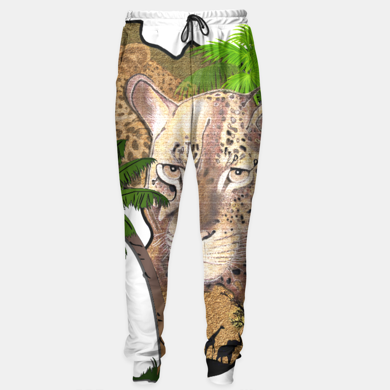 Image of Map of Africa Sweatpants - Live Heroes