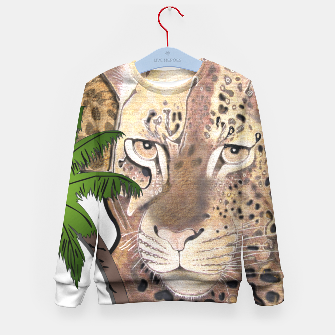 Image of Map of Africa Kid's Sweater - Live Heroes