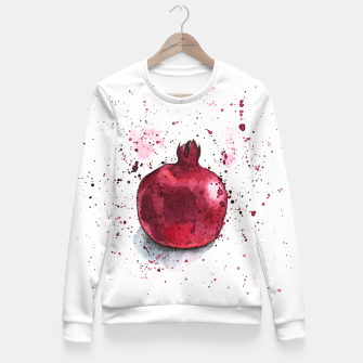 Thumbnail image of Pomegranate Fitted Waist Sweater, Live Heroes