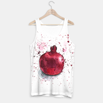 Thumbnail image of Pomegranate Tank Top, Live Heroes