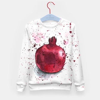 Thumbnail image of Pomegranate Kid's Sweater, Live Heroes