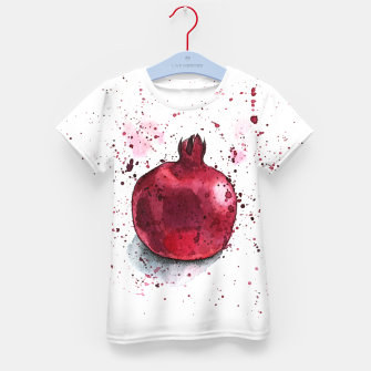 Thumbnail image of Pomegranate Kid's T-shirt, Live Heroes