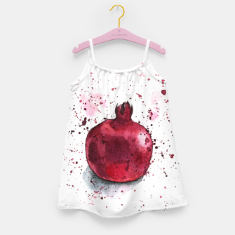 Thumbnail image of Pomegranate Girl's Dress, Live Heroes