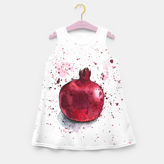 Thumbnail image of Pomegranate Girl's Summer Dress, Live Heroes