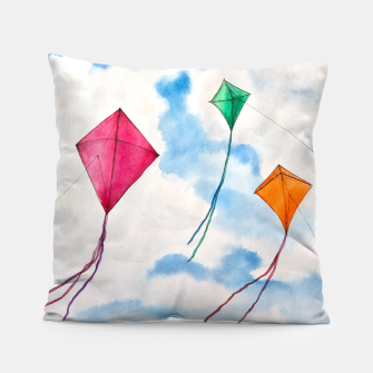 Thumbnail image of Kites Pillow, Live Heroes